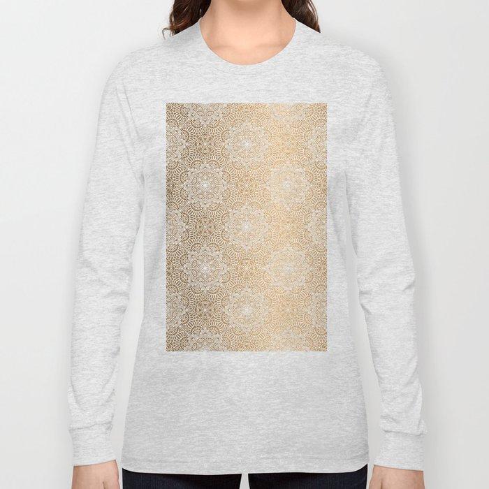 Gold Mandala 18 Long Sleeve T-shirt