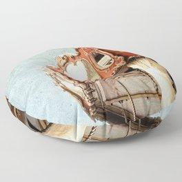 Le Manège #3 Floor Pillow