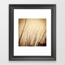You Will Find It Here Framed Art Print