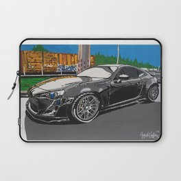 B is for builds  plan A painting Laptop Sleeve