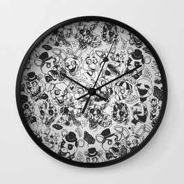 The gang's all here - Five Nights At Freddy's Wall Clock