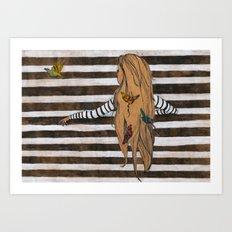 The Nest Art Print