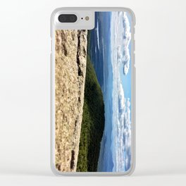 Summit View, Pleasant Mountain, Maine (2) Clear iPhone Case