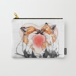 baby fox love Carry-All Pouch
