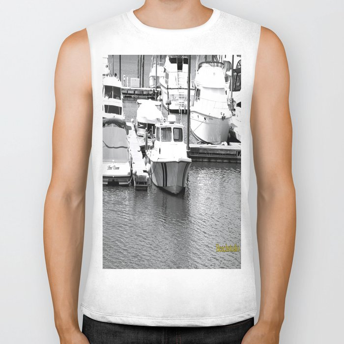 Boats BW Biker Tank