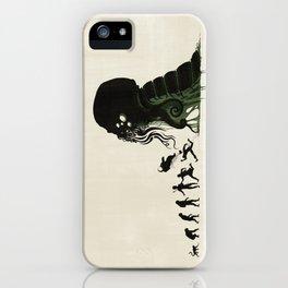 Lovecraftian Darwinism iPhone Case