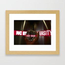 NC State University Framed Art Print