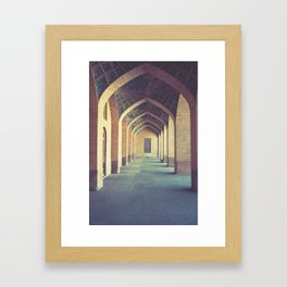 Mosque in Shiraz Framed Art Print