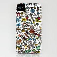 100 things Slim Case iPhone (4, 4s)