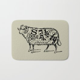 Mutton Cuts Bath Mat