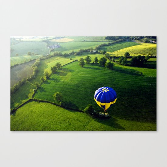 Above The Shires Canvas Print