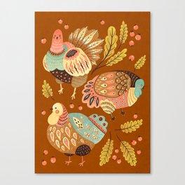Thanksgiving Dinner II Canvas Print