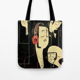 乐 Music Lovers / Vintage Tote Bag