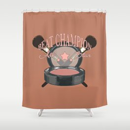 Beat Champ Shower Curtain