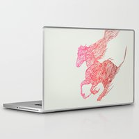 horse Laptop & iPad Skins featuring Horse by Huebucket