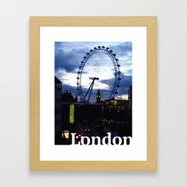 I still love you London! Framed Art Print