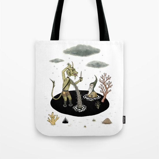 Shifting Tide Pool Tote Bag