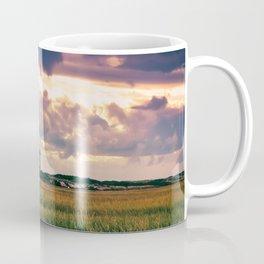Gathering Storm at Sunset, Cape Cod Lighthouse Coffee Mug