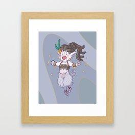 Mythology Opal Framed Art Print