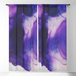 Violet Aura Blackout Curtain