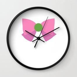Sailor Jupiter Bow Wall Clock
