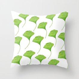 Ginkgo Throw Pillow