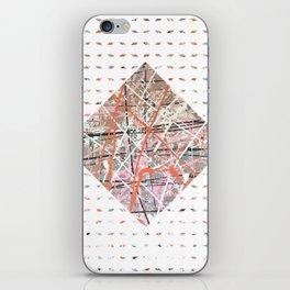 Flight of Color - diamond graphic iPhone Skin