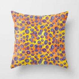 Blueberry Bonanza Throw Pillow
