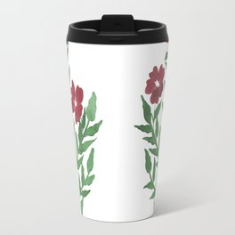 Indian Floral Motif Travel Mug