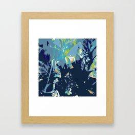 Blue Jungle Framed Art Print
