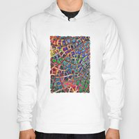 cracked Hoodies featuring Cracked Earth by Klara Acel