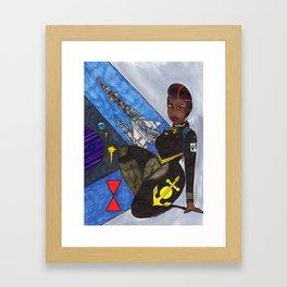 The Lady of 7th Fleet Framed Art Print