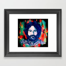 Jerry Garcia Framed Art Print