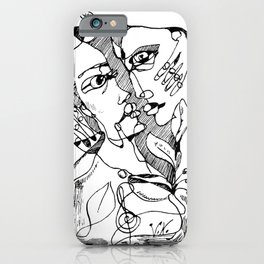 Couple In Love Lira Edition iPhone Case