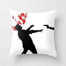 One Shot Throw Pillow