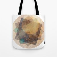 moon phase Tote Bags featuring It's Just  A Phase by Anai Greog