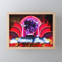 Hollywood & Vine Framed Mini Art Print
