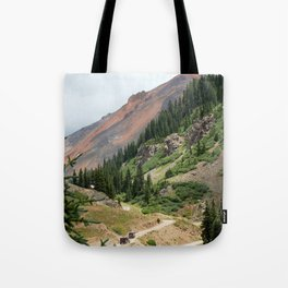 Road to the Longfellow Mine, elevation 11,080 feet Tote Bag