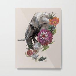 Elephant : Memory of Elephants Metal Print