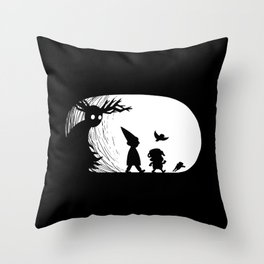 Beware the Unknown Throw Pillow
