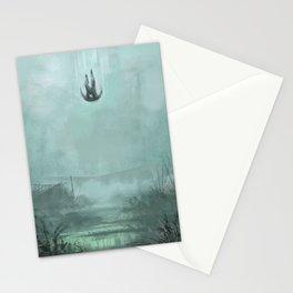 Entering the Marshland Stationery Cards