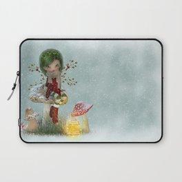 Winter Green Laptop Sleeve