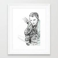 legolas Framed Art Prints featuring Legolas by Margret Stewart