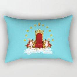 The throne Rectangular Pillow