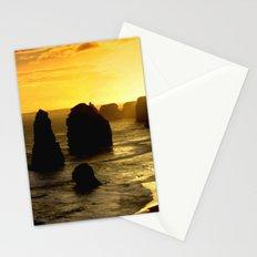 Sunset over the Twelve Apostles - Australia Stationery Cards