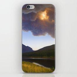 Smoke in the Air - Bozeman, Montana iPhone Skin