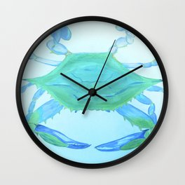 Chesapeake Blue Crab Wall Clock