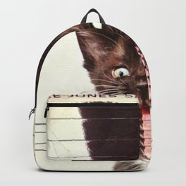 Slave To Kitty Backpack