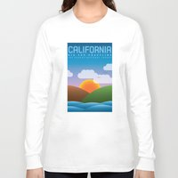 big sur Long Sleeve T-shirts featuring Big Sur, California by dzynwrld