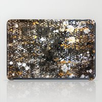 black and gold iPad Cases featuring Black Gold by Tyler Resty